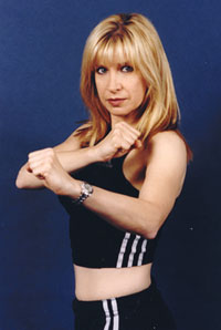 Cynthia Rothrock at Hollywood C...